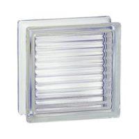 Pustak szklany luksfer 198 Clear Reeded EI 15 La Rochere